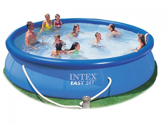 Надувной бассейн INTEX с54914 бассейны intex easy set pool 28168