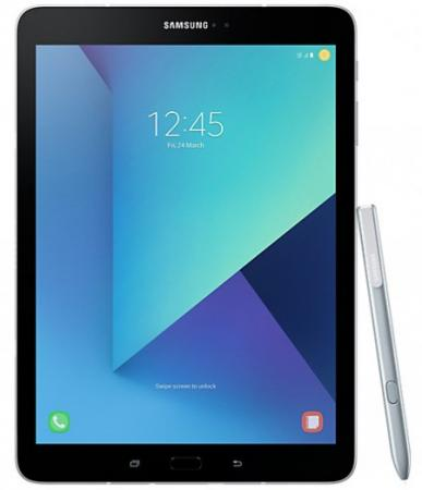 Планшет Samsung Galaxy Tab S3 SM-T825 9.7 32Gb серебристый Wi-Fi 3G Bluetooth LTE Android SM-T825NZSASER kefo for samsung galaxy tab s3 9 7 t820 t825 t825c nylon shockproof tablet sleeve pouch bag case for cover
