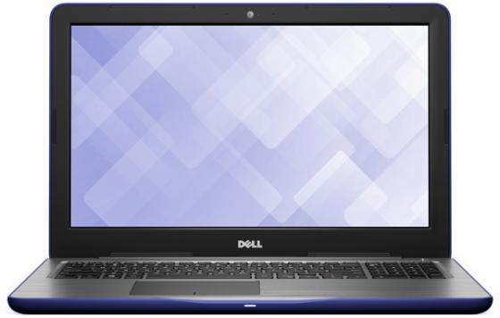 Ноутбук DELL Inspiron 5567 15.6 1920x1080 Intel Core i5-7200U 1 Tb 8Gb Radeon R7 M445 4096 Мб синий Windows 10 Home 5567-8017 ноутбук dell inspiron 5567 15 6 1366x768 intel core i3 6006u 5567 7942