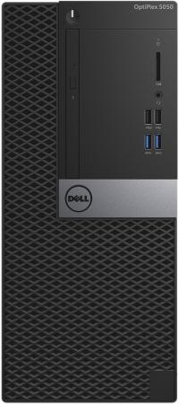 Системный блок DELL Optiplex 5050 MT i7-7700 3.6GHz 8Gb 1Tb HD630 DVD-RW Win10Pro клавиатура мышь серебристо-черный 5050-8299 системный блок hp prodesk 400 g4 mt i7 7700 3 6ghz 4gb 500gb hd630 dvd rw dos клавиатура мышь серебристо черный 1kn91ea