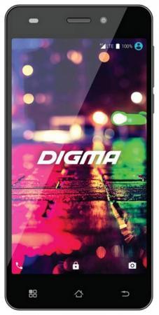 Смартфон Digma CITI Z560 4G черный 5 16 Гб Wi-Fi GPS 3G LTE смартфон 5 digma vox s505