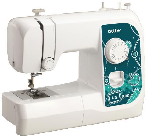 Швейная машина Brother LX500 белый brother швейная машина brother artcity250a