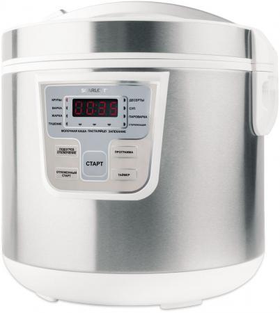 Мультиварка Scarlett SC-MC410S18 860 Вт 5 л серебристый белый цена