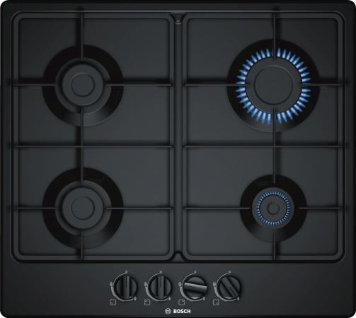 Варочная панель газовая Bosch PGP6B6B60 черный газовая варочная панель bosch pch6a5b90r pch6a5b90r