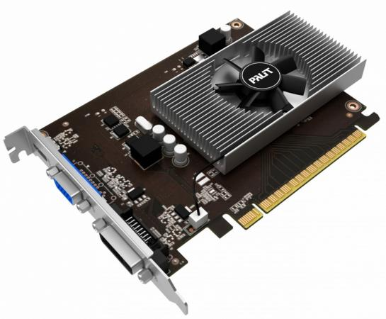 Видеокарта 4096Mb Palit GeForce GT730 PCI-E DVI HDMI HDCP PA-GT730K-4GD5H NE5T730013G6-2082F OEM видеокарта asus geforce gtx 1060 1620mhz pci e 3 0 6144mb 8208mhz 192 bit dvi hdmi hdcp rog strix gtx1060 o6g gaming