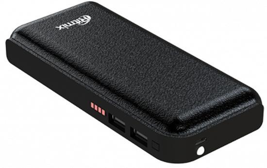 Портативное зарядное устройство Ritmix RPB-10001L 10000мАч черный внешние акк��муляторы wb портативное зарядное устройство