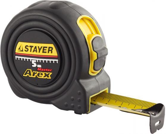 Рулетка Stayer 3410-10_z01 10мx25мм рулетка topex 27c310 10мx25мм