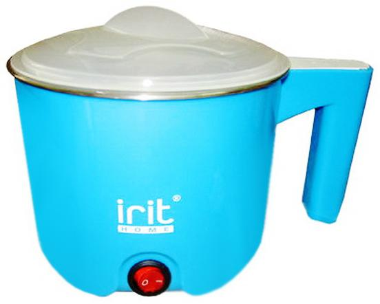 Чайник Irit IR-1100 400 Вт 1 л металл/пластик чайник irit ir 1314 1500 вт зелёный 1 8 л нержавеющая сталь