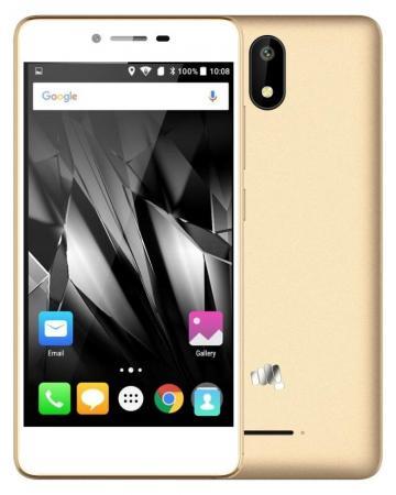 Смартфон Micromax Q409 шампань 5 8 Гб LTE Wi-Fi GPS 3G смартфон micromax q409 черный q409 black