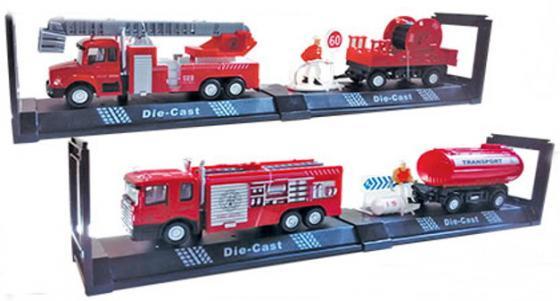 Пожарная машина Autotime Fire Truck Set пожарная разноцветный в ассортименте 34139 машинки autotime машина scania transport пожарная с вертолетом
