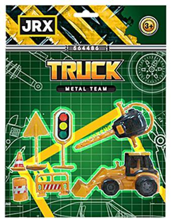 Набор  AUTOTIME Городской строитель в асс-те 63920 autotime игровой набор color twisters эпик с треком