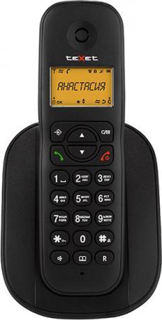 все цены на Радиотелефон DECT Texet TX-D4505A Dect черный онлайн