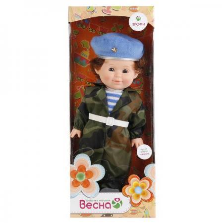 Кукла ВЕСНА Митя Военный 34 см со звуком В1970/о весна кукла митя почтальон