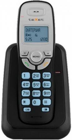 Радиотелефон DECT Texet TX-D6905А Dect черный телефон проводной texet tx 201 белый
