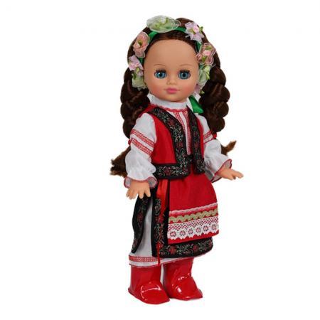 Кукла ВЕСНА Элла в украинском костюме 35 см со звуком В2841/о кукла весна 35 см