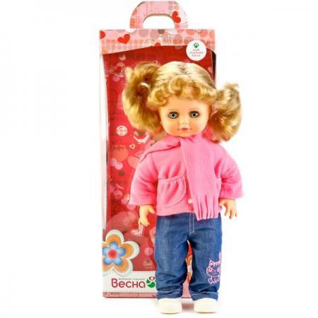 Кукла ВЕСНА Инна 38 43 см со звуком В1919/о кукла весна инна в куртке со звуком 43 см