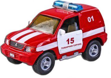 Машина Пламенный мотор 1:36 Mitsubishi Пожарная охрана, свет, звук, откр.двери, 13см 870205 машина пламенный мотор volvo v70 пожарная охрана 87498