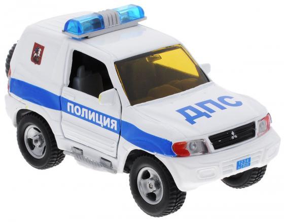 Машина Пламенный мотор 1:36 Mitsubishi  Полиция ДПС, свет, звук, откр.двери, 13см 870206 пламенный мотор машинка инерционная volvo пожарная охрана
