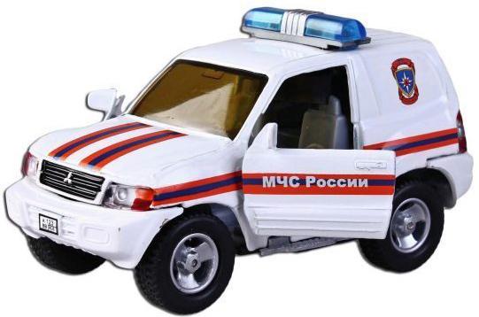 Машина Пламенный мотор 1:36 Mitsubishi МЧС России, свет, звук, откр.двери, 13см 870204 машина пламенный мотор 1 36 mitsubishi пожарная охрана свет звук откр двери 13см 870205