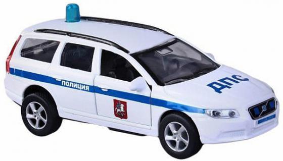 Машина Пламенный мотор Volvo V70 ДПС 13 см белый  870082 машина пламенный мотор volvo v70 пожарная охрана 87498