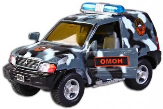 Машина Пламенный мотор Mitsubishi Омон 13 см камуфляж 870202 пламенный мотор машинка полиция омон гувд россии