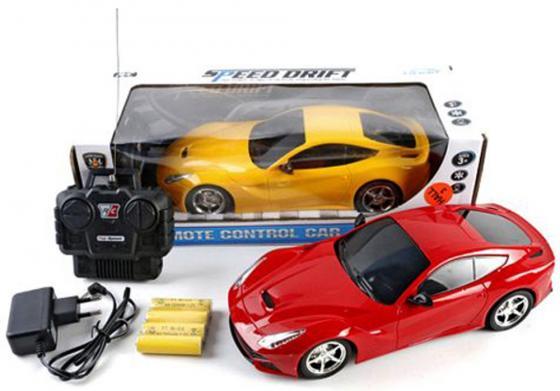 Машинка на радиоуправлении Shantou Gepai Speed Drift цвет в ассортименте от 3 лет пластик 1:16, 4 канала 368-30 drift игрушка пластм машина грузовик пожарная автоцистерна р у свет drift
