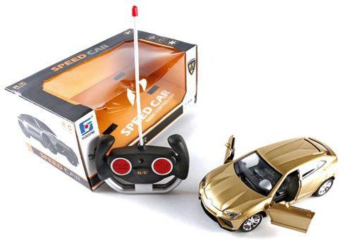 Машинка на радиоуправлении Shantou Gepai Speed Car 25889-A цвет в ассортименте от 3 лет пластик в ассортименте цена