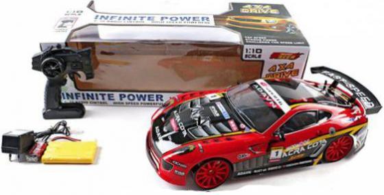 Машинка на радиоуправлении Shantou Gepai Infinite Power красный от 3 лет пластик  DL666-25 игрушка shantou gepai машина перевертыш 666 858