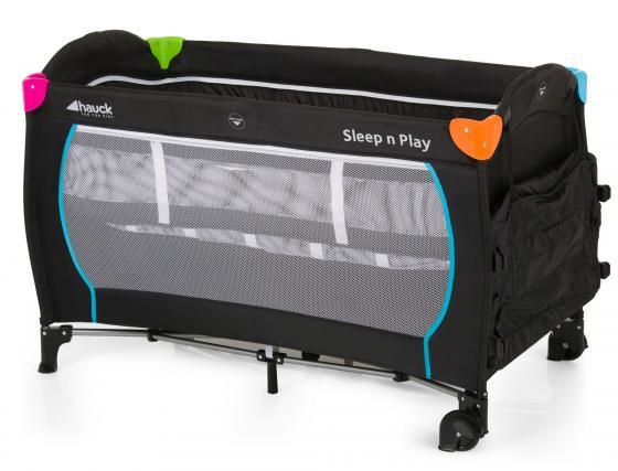 Манеж Hauck Sleep`n Play Center (multicolor black) акустика центрального канала mt power elegance center black