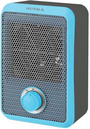 Тепловентилятор Supra TVS-F08 800 Вт серый синий тепловентилятор supra tvs f08 grey red