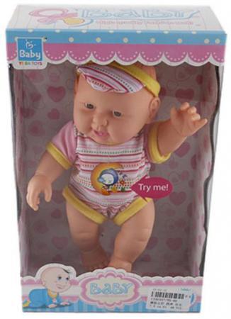 Кукла Shantou Gepai Baby - Мальчик 22 см со звуком YD-66 стоимость