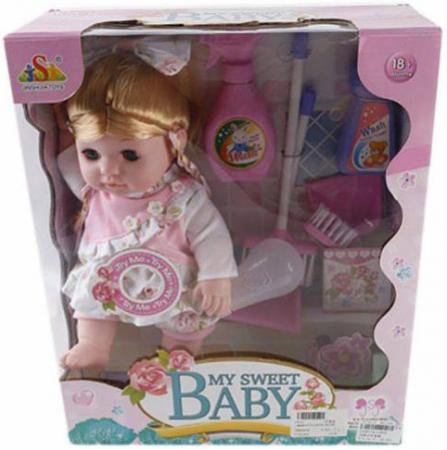 Кукла Shantou Gepai Ирена 35 см со звуком 13019 стоимость