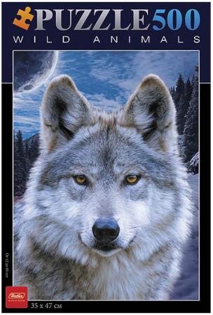Пазл 500 элементов Hatber Волк 500ПЗ2_08264 пазл 500 элементов hatber волк 500пз2 08264