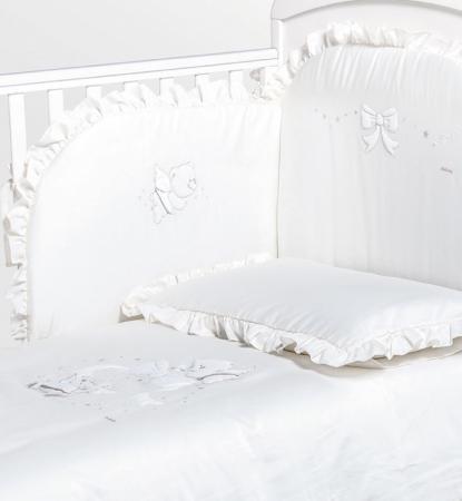 где купить Постельный сет Italbaby Sweet Angels (белый/100.0081-5) по лучшей цене