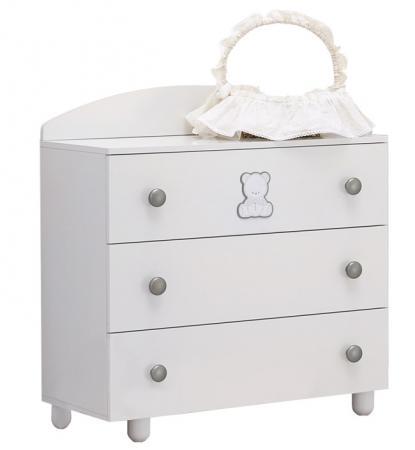 Комод бельевой Baby Expert Amore (белый) кровать baby expert кровать baby expert primo amore крем