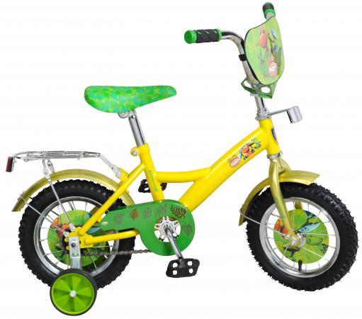 Велосипед двухколёсный Navigator Поезд динозавров 12 желто-зеленой велосипед двухколёсный navigator миньоны 18 желтый вн18074