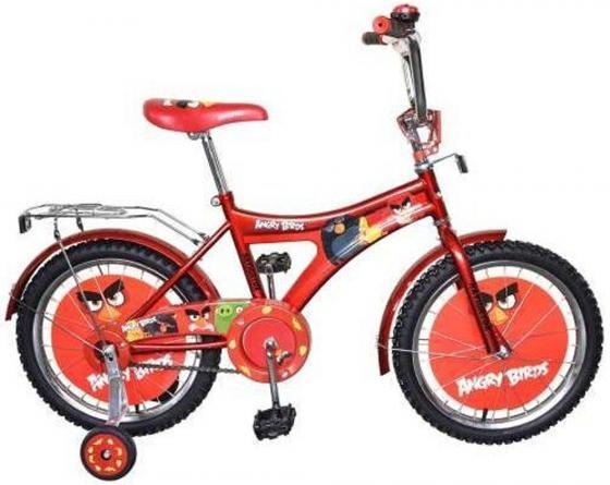 Велосипед двухколёсный Navigator Энгри Бердз 18 красный  ВН18057 велосипед navigator super hero girls 18 разноцветный двухколёсный