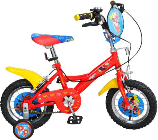 Велосипед двухколёсный Navigator Super Hero Girls ВН14157 14 разноцветный двухколесные велосипеды navigator super hero girls 16