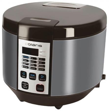 Мультиварка Polaris PMC 0558AD 700 Вт 5 л кофе серебристый мультиварка polaris pmc 0367ad черный