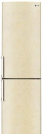 Холодильник LG GA-B499YECZ бежевый холодильник lg ga b429smcz silver
