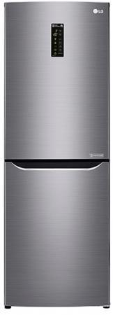 Холодильник LG GA-B389SMQZ серый футболка с полной запечаткой printio гейша