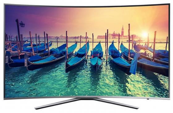 Телевизор LED 49 Samsung UE49MU6500UXRU серый 3840x2160 100 Гц Wi-Fi Smart TV RJ-45 Bluetooth телевизор led 65 samsung qe65q7camux серебристый 3840x2160 wi fi smart tv rs 232c