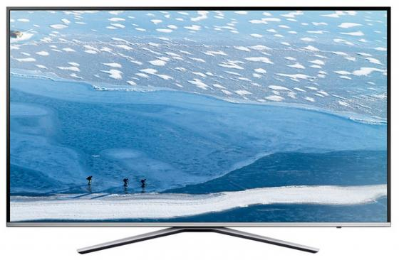 Телевизор LED 49 Samsung UE49MU6400UXRU серебристый 3840x2160 Wi-Fi Smart TV RJ-45 Bluetooth телевизор led 65 samsung qe65q7camux серебристый 3840x2160 wi fi smart tv rs 232c