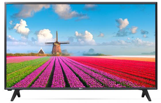 Телевизор 43 LG 43LJ500V черный 1920x1080 50 Гц USB телевизор lg 43 43lj500v led full hd pmi 200 черный