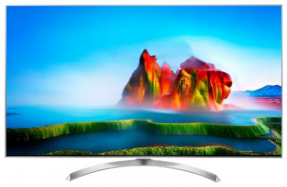 Телевизор 49 LG 49SJ810V серебристый 3840x2160 120 Гц Wi-Fi Smart TV RJ-45 Bluetooth WiDi телевизор 32 lg 32lh570u серый 1366x768 100 гц smart tv wi fi usb rj 45 widi