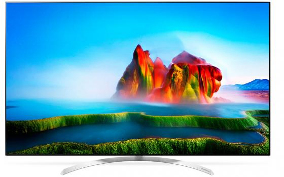 Телевизор 65 LG 65SJ930V белый 3840x2160 120 Гц Wi-Fi Smart TV RJ-45 Bluetooth WiDi S/PDIF телевизор led 65 samsung qe65q7camux серебристый 3840x2160 wi fi smart tv rs 232c