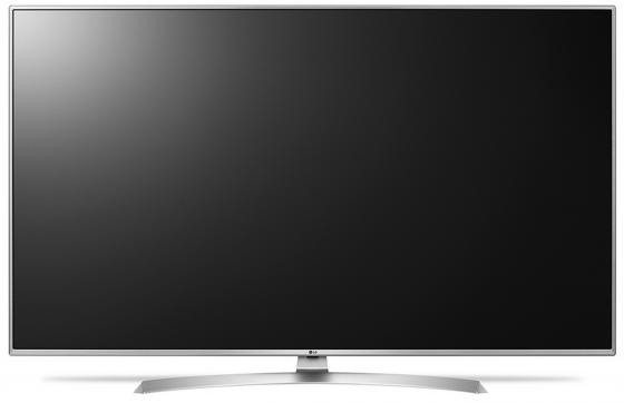 Телевизор 65 LG 65UJ655V серебристый 3840x2160 Wi-Fi Smart TV RJ-45 Bluetooth S/PDIF телевизор led 65 samsung qe65q7camux серебристый 3840x2160 wi fi smart tv rs 232c