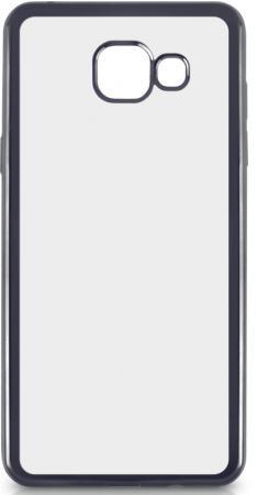 Чехол силиконовый DF sCase-22 для Samsung Galaxy A3 2016 с рамкой серый силиконовый чехол с рамкой для samsung galaxy j2 prime grand prime 2016 df scase 36 gold