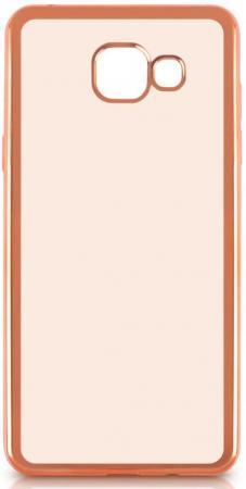 Чехол силиконовый DF sCase-24 с рамкой для Samsung Galaxy A7 2016 розовый чехол силиконовый df scase 24 с рамкой для samsung galaxy a7 2016 серый
