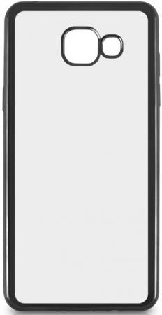 Чехол силиконовый DF sCase-24 с рамкой для Samsung Galaxy A7 2016 серый цены